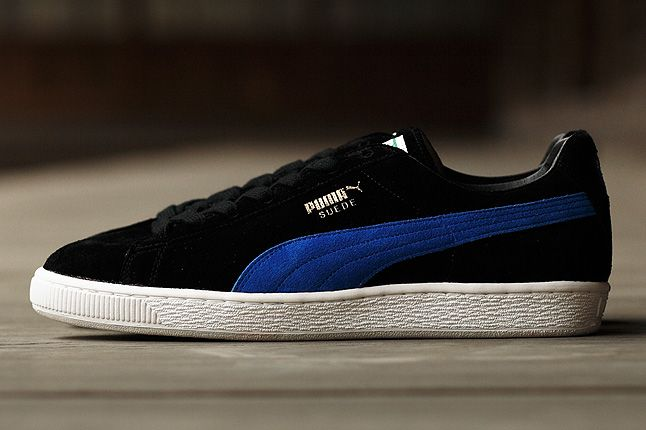 Puma Suede Made In Japan Blue Profile 1