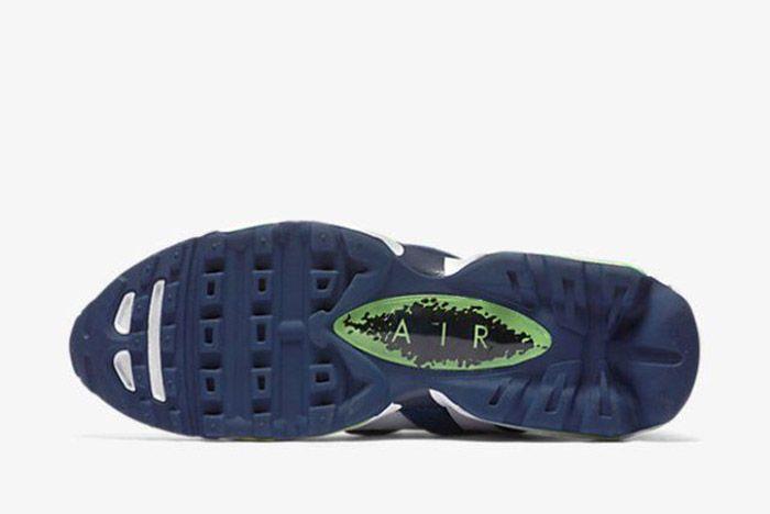 Nike Air Max 96 White Obsidian Scream Green 5