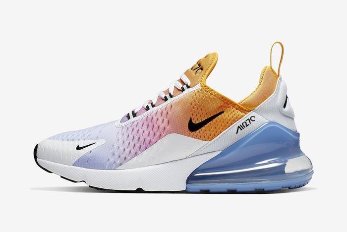 Nike Air Max 270 University Gold University Blue Lateral