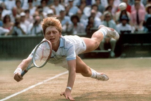 Boris Becker Young