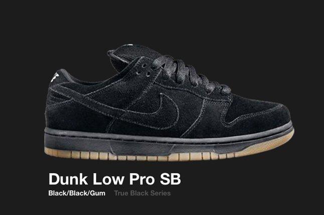 Nike Dunk Sb Low True Black Series 2005 1