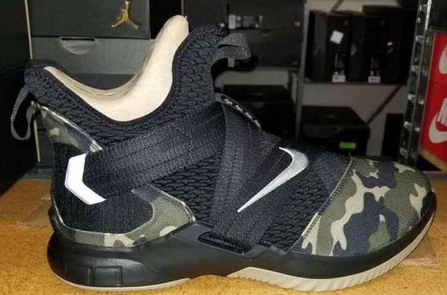 Nike Le Bron Soldier 12 Sfg Camo Ao4054 001