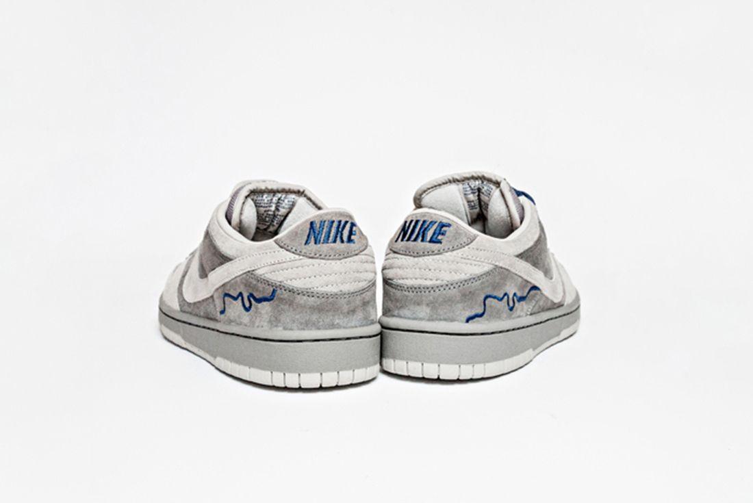 Nike SB Dunk Low Pro 'London' on white