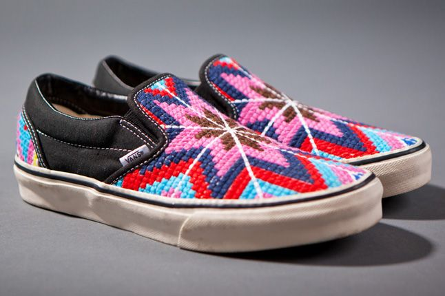Clot X Vans 2012 Holiday Collection Slip Ons 1