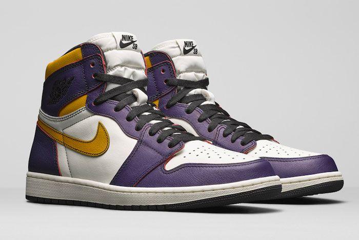 Nike Sb Air Jordan 1 Court Purple Right