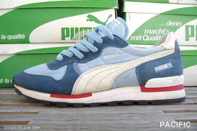 old style puma trainers