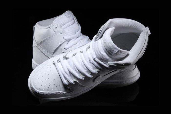 Nike Sb Dunk High Pro White 2