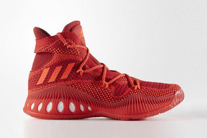 Adidas Crazy Explosive Primeknit Red 1