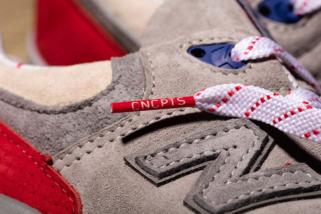 New Balance 999 Hyannis Concepts Red 3