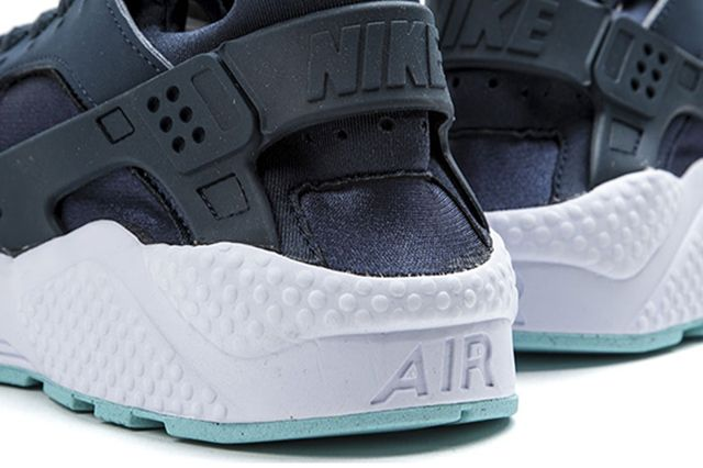 Nike Air Huarache Armory Navy Detailed Look 1