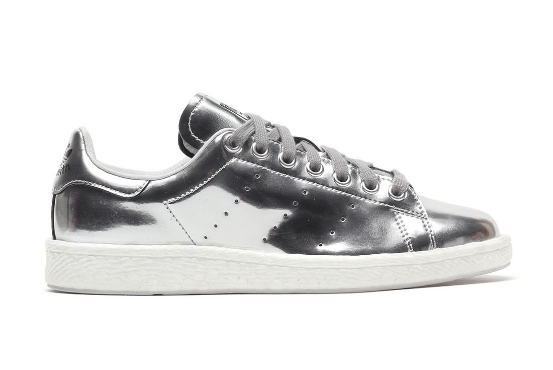 Adidas Stan Smith Boost Silver2