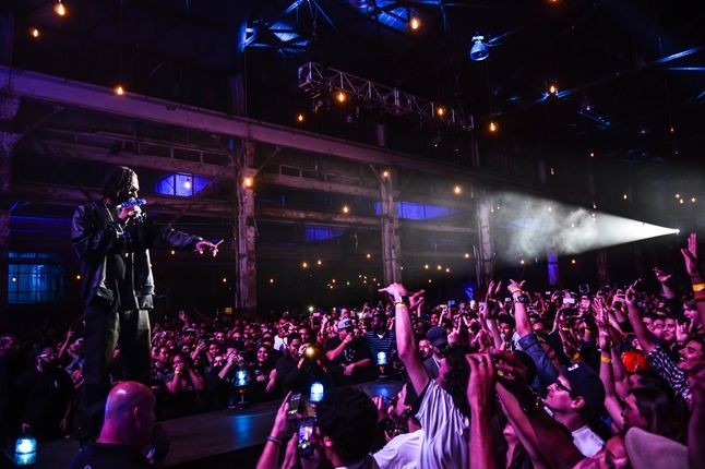 Adidas Originals Los Angeles Pop Up Concert Snoop Lion 1