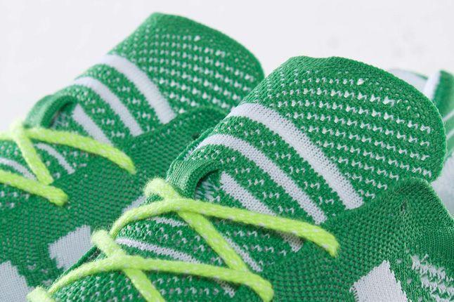 Adidas Primeknit Olympics Prime Green Lacing 1