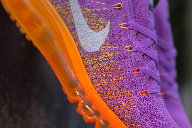 Nike Wmns Flyknit Max Atomic Purple Total Orange 2