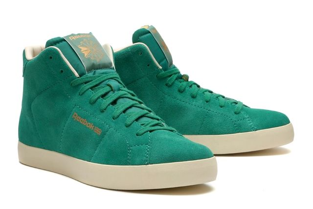 Reebok Classics Reserve The Franchise Hi Green 2