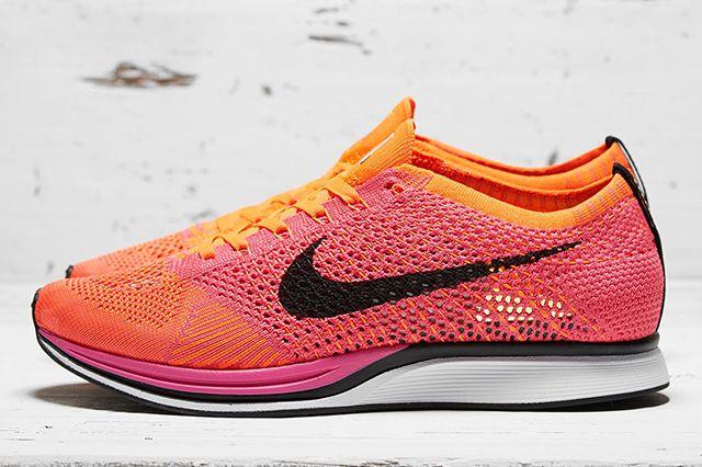 Nike Flyknit Racer Pink Flash