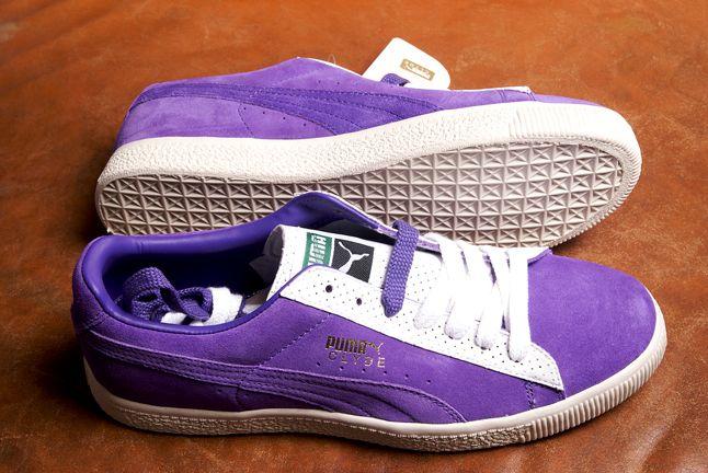 Puma Clyde Violet 1