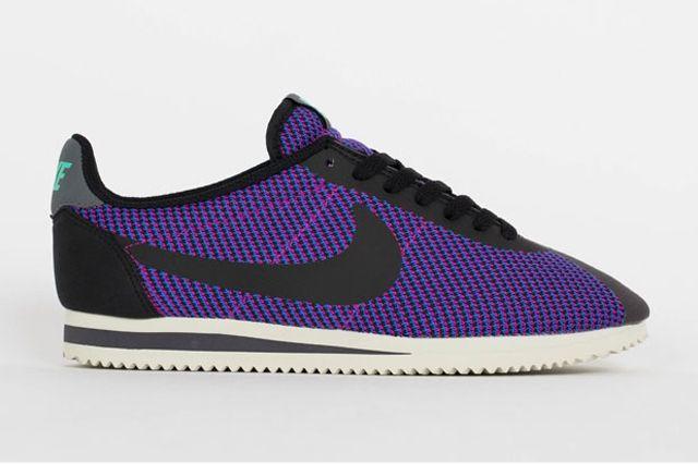 Nike Cortez Black Purple 3