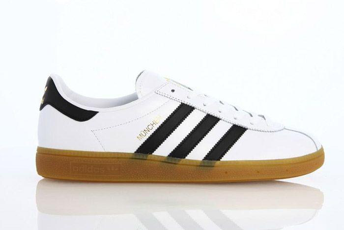 Adidas Munchen White Black Gum 1