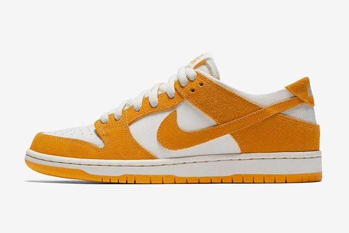 Nike Sb Dunk Low Circuit Orange 2