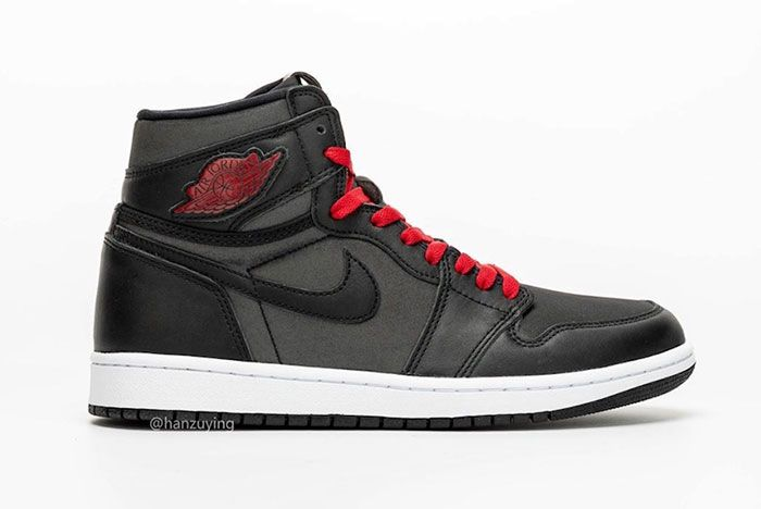 Air Jordan 1 Satin Black Gym Red 555088 060 Release Date 2 Side