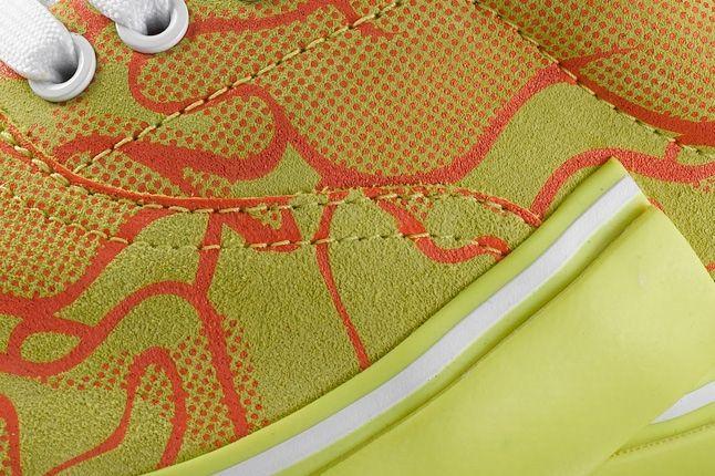Puma Mihara Yasuhiro 61 Uncamo Yellow Midfoot Detail 1