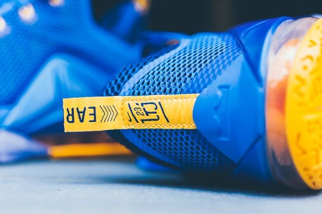 Nike Lebron 12 Low Photo Blue Uni Gold 4