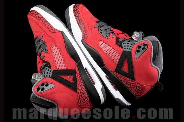 Jordan Spizike Red 3 1