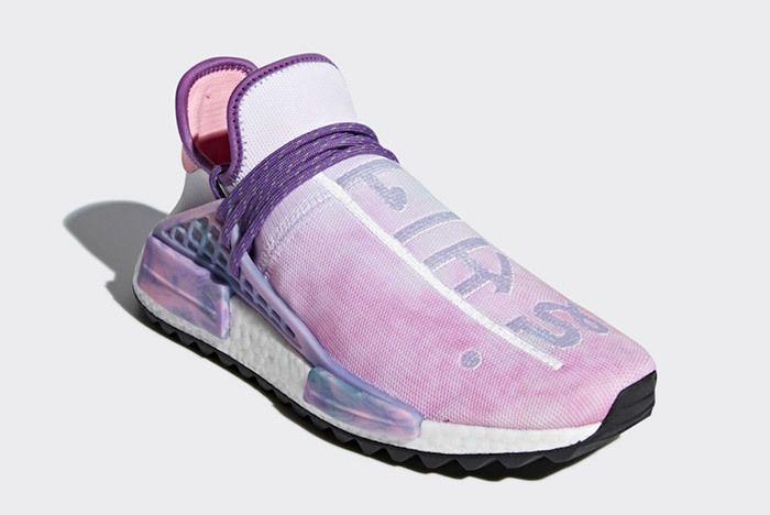 Pharrell X Adidas Nmd Hu Trail Holi Pink Glow 8