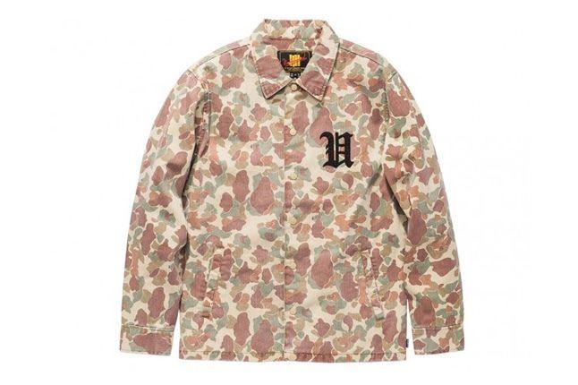 Undefeated Ss13 Washedcamo Jacket 1