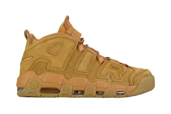 Nike Air More Uptempo Wheat Brown 5