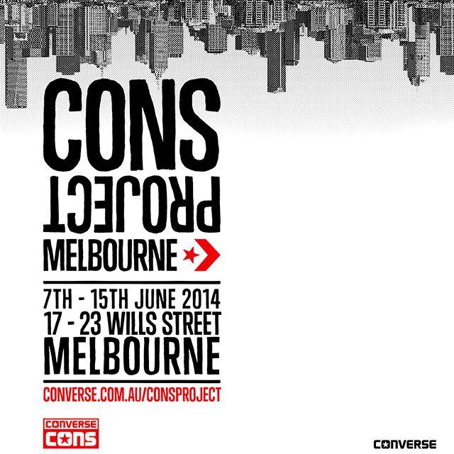 Converse Cons Launches Cons Project Melbourne