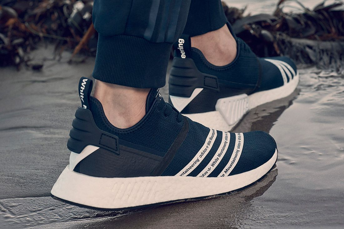 White Mountaineering Adidas On Foot 4