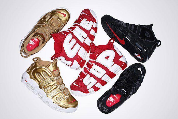 Supreme Nike Air More Uptempo Pack Thumb