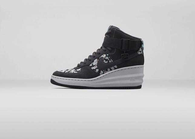 Nike X Liberty Lunar Force 1 Sky Hi Rrp 200