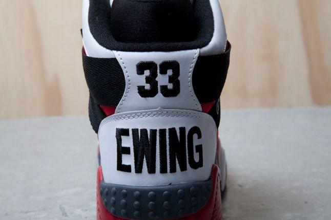 Ewing Focus White Red Black Heel 1