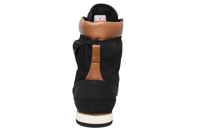 Pata Kangaroos Woodhollow Black Heel 1