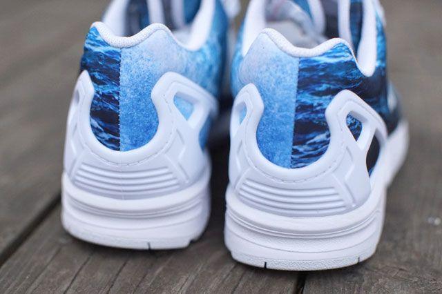 Zx Flux Ocean Waves Heel