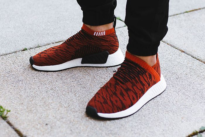Adidas Nmd City Sock 2 Harvest Red 3