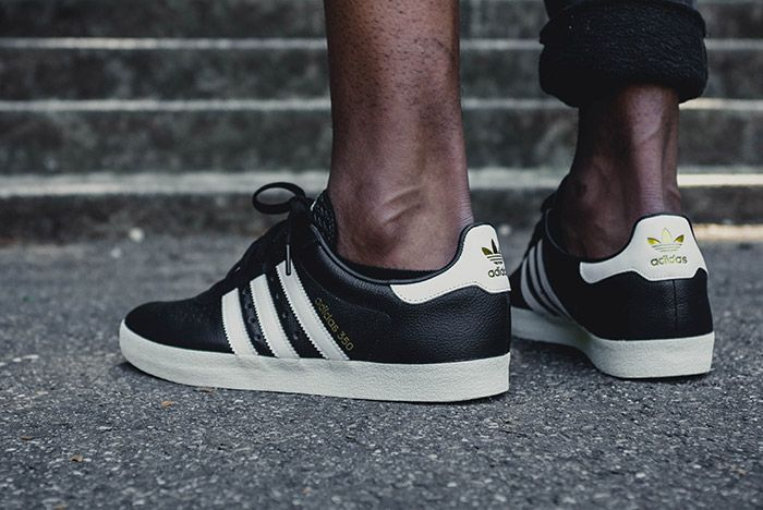 Adidas 350 Core Black 3