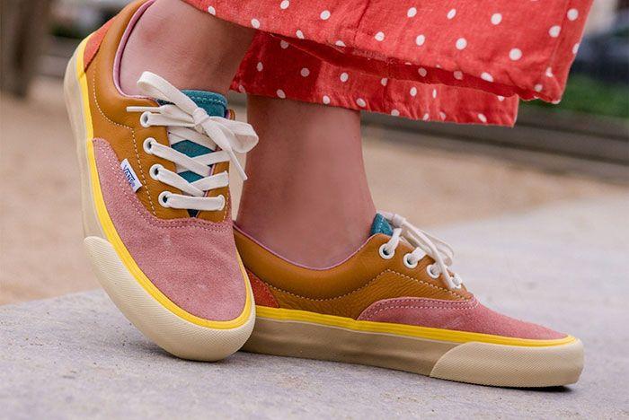 Vans Vault Sk8 Hi Old Skool Era Multicolor Lx Pack Release Date 3 On Foot