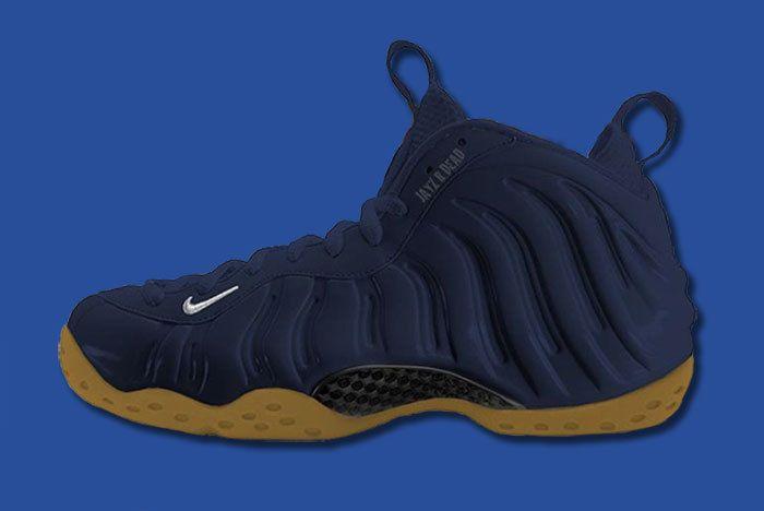 Nike Foamposite Navy Gum