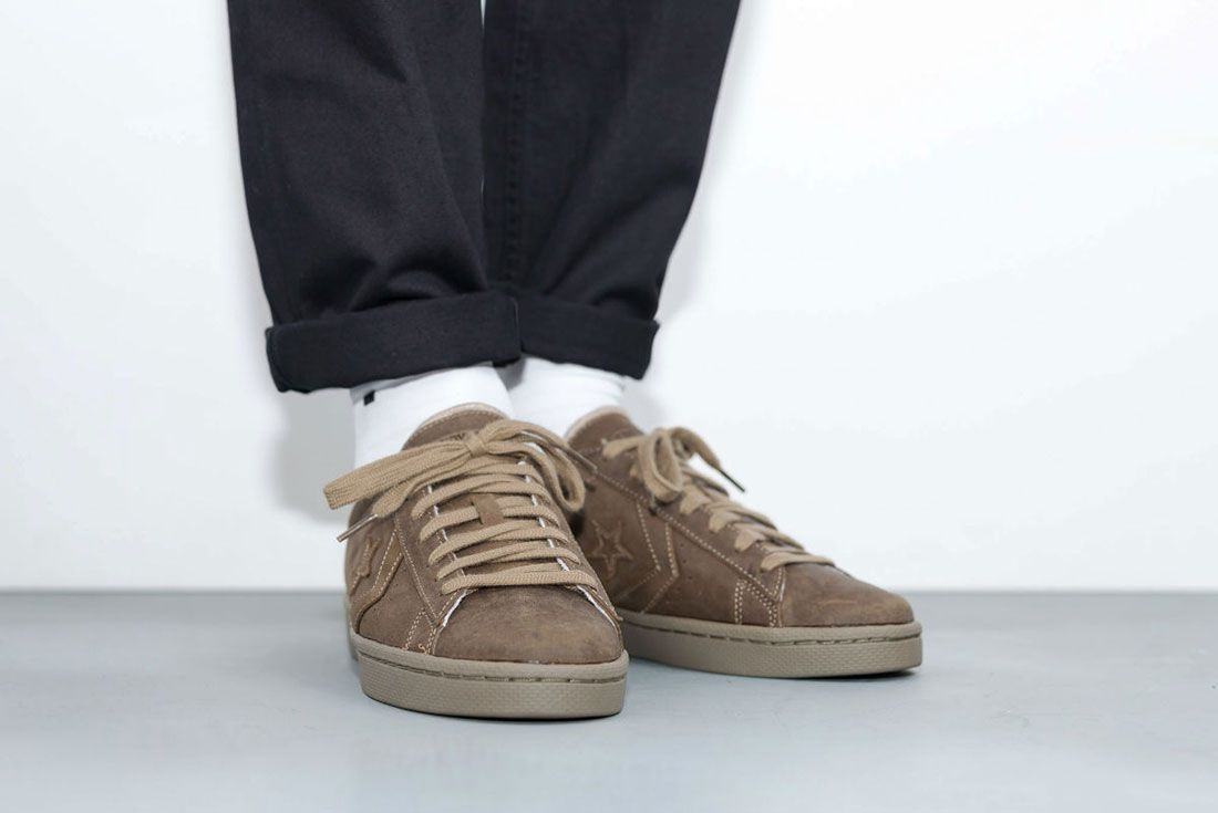 Converse Cons Pro Leather 76 Ox ' Autumn Mono' Pack 2