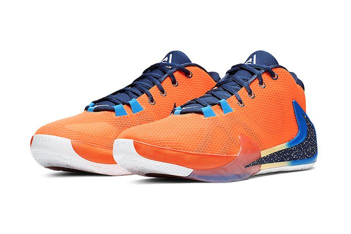 Nike Zoom Freak 1 Total Orange Bq5422 800 Release Date Pair