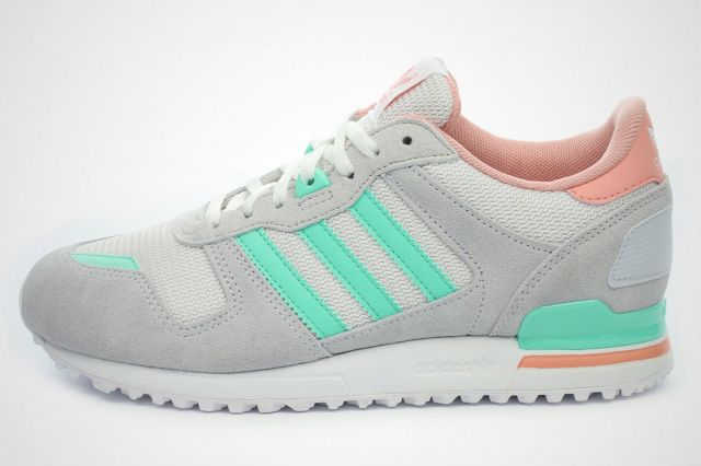 Adidas Originals Zx 700 Salmon Mint 6