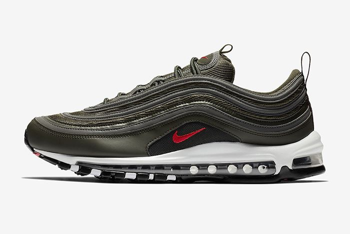 Nike Air Max 97 Sequoia University Red 1