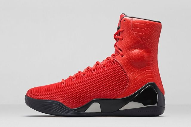 Nike Kobe 9 Ext Challenge Red 3