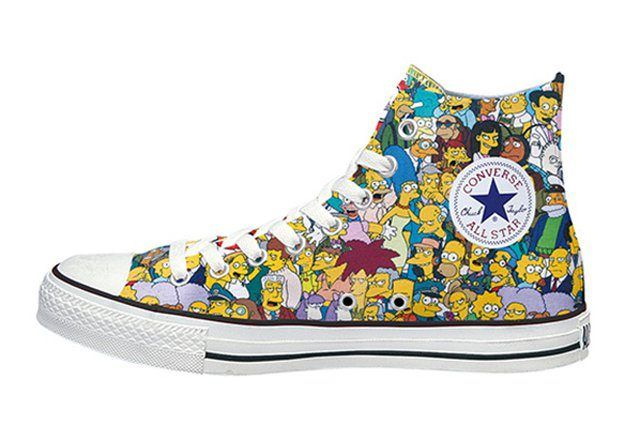 The Simpsons Converse Japan Chuck Taylor All Star