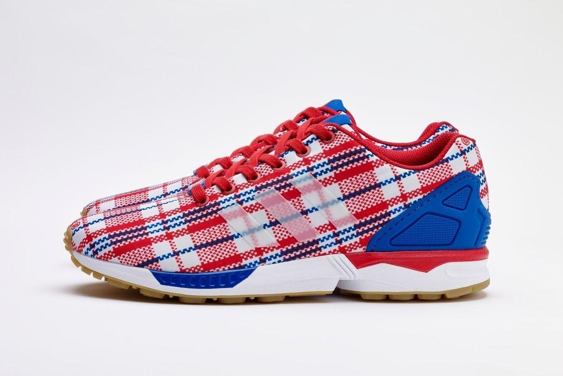 Clot Adidas Originals Zx Flux Rwb