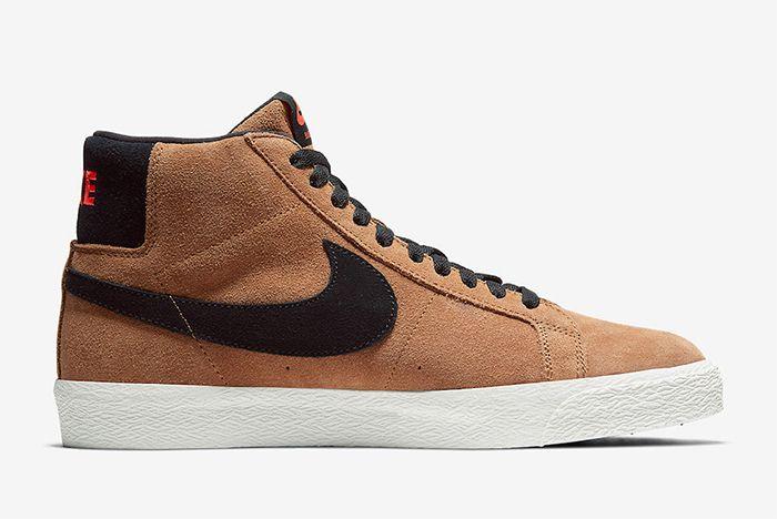 Nike Sb Blazer Mid Light British Tan Right